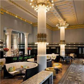 Column Bar Warsaw hotel Bristol